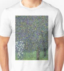 Gustav Klimt - Roses Under The Trees-   Gustav Klimt - Landscape Unisex T-Shirt
