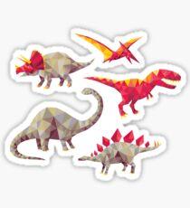 Geo-saurs Sticker