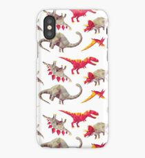 Geo-saurs iPhone Case/Skin
