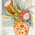 Protea 2 by Carol McLean-Carr