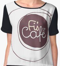 Fi's Cafe Chiffon Top