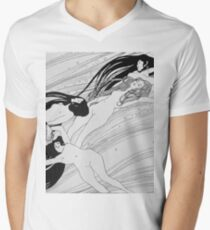 Gustav Klimt - The Blood Of Fish -Klimt  Men's V-Neck T-Shirt