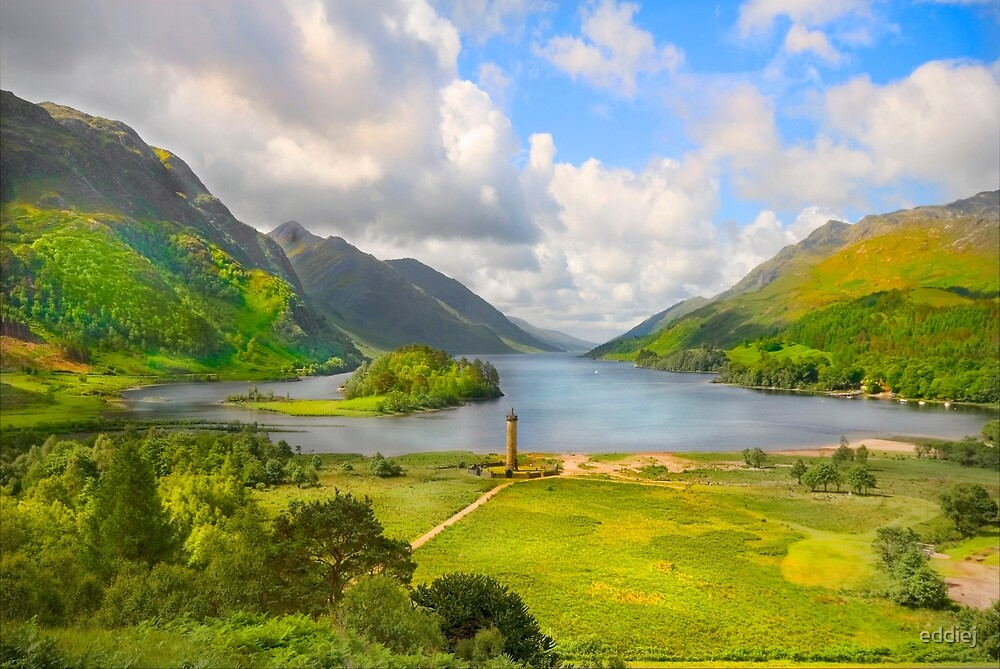 Loch Sheil - Scotland by eddiej