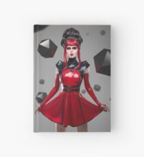 Dead Lotus Couture Red Hardcover Journal