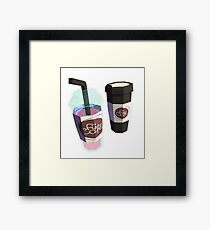 Stay Refreshed Framed Print