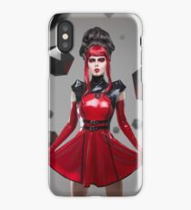 Dead Lotus Couture Red iPhone Case/Skin