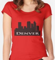 Denver Women's Fitted Scoop T-Shirt
