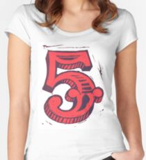 Red 5 Women's Fitted Scoop T-Shirt