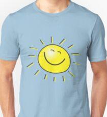 Smiling happy Sun Unisex T-Shirt