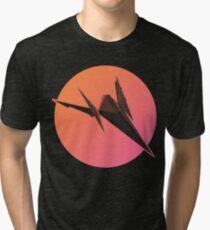 Sunset Arwing Tri-blend T-Shirt