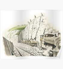 Mineral Railway, Dover Poster