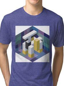 Arceus Voxel Tri-blend T-Shirt