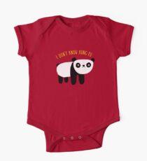 Regelmäßiger Panda Baby Body Kurzarm