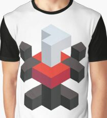 Voxel Darkrai Graphic T-Shirt