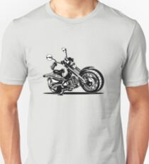 Cartoon Motorcycle T-Shirt