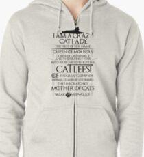 I am Catleesi Zipped Hoodie