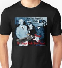 The Single Bullet Blues Band Slim Fit T-Shirt