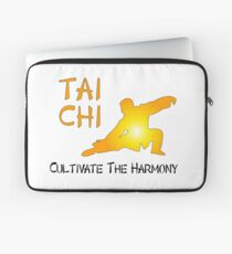 Tai Chi - Cultivate The Harmony Laptop Sleeve
