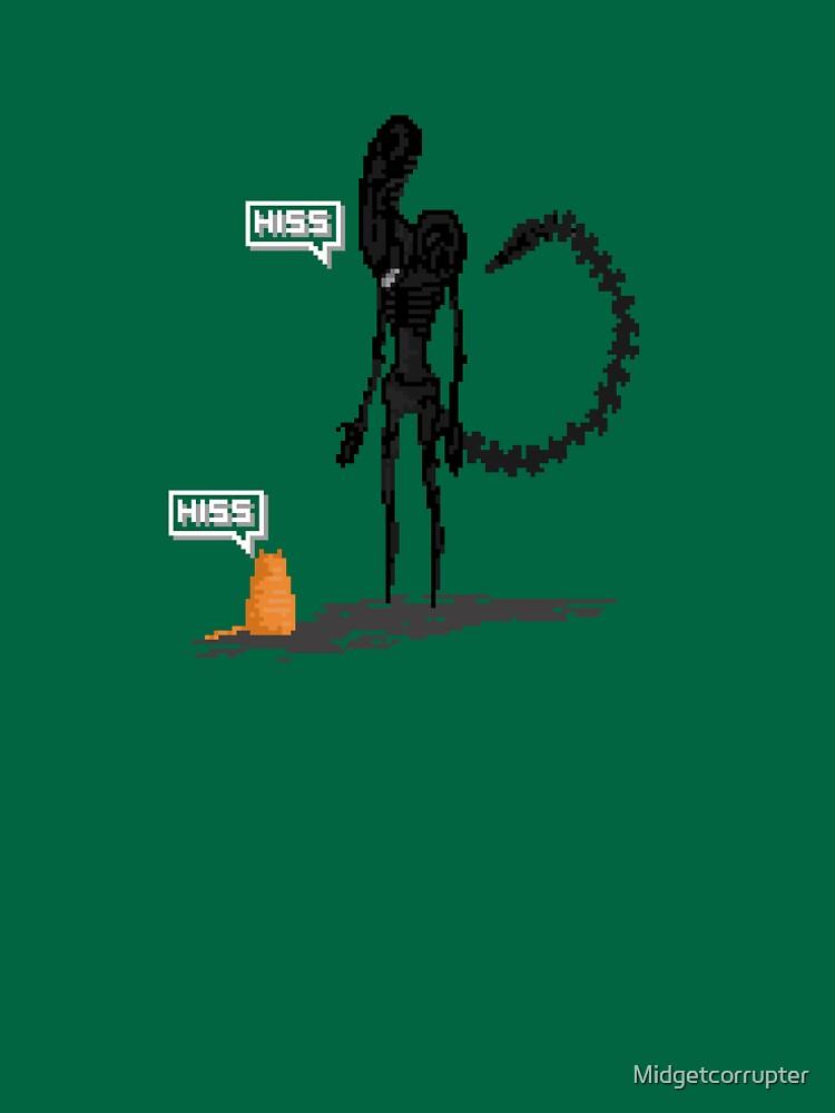 Alien Vs Jonesy by Midgetcorrupter