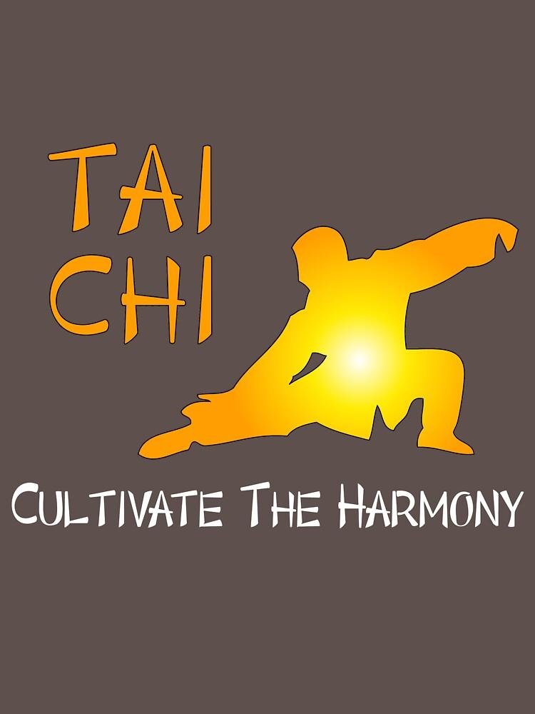 Tai Chi - Cultivar la armonía (fondo negro) de TaiChiQiGong