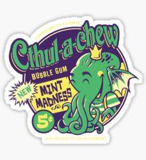 Cthulachew Sticker