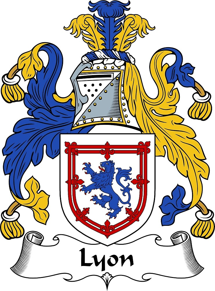 Lyon Coat of Arms / Lyon Family Crest by ScotlandForever