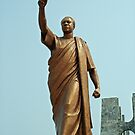Kwame Nkrumah, Ghana`s first president, West Africa by Remo Kurka