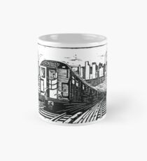 New York Subway Train Mug