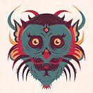 Great Horned Owl by strangethingsA