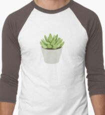 Succulent I Men's Baseball ¾ T-Shirt