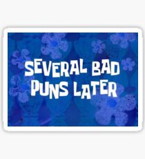 Spongebob Time Lapse Sticker