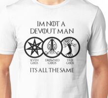 Devout Man Unisex T-Shirt