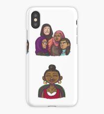 Femi + The Hijabi Girl Gang iPhone Case