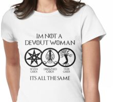 Devout Woman Womens Fitted T-Shirt