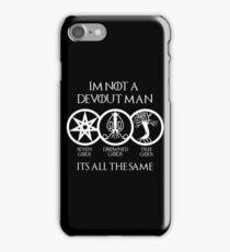 Devout Man (Dark) iPhone Case/Skin