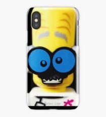 Lego Monster Scientist minifigure iPhone Case/Skin