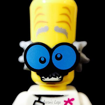 Lego Monster Scientist minifigure by aaronslego