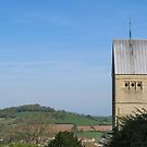 The church at Selsley, Stroud in Gloucestershire. by Jeff  Wilson