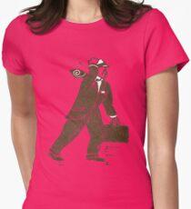 Rush Hour Man Womens Fitted T-Shirt