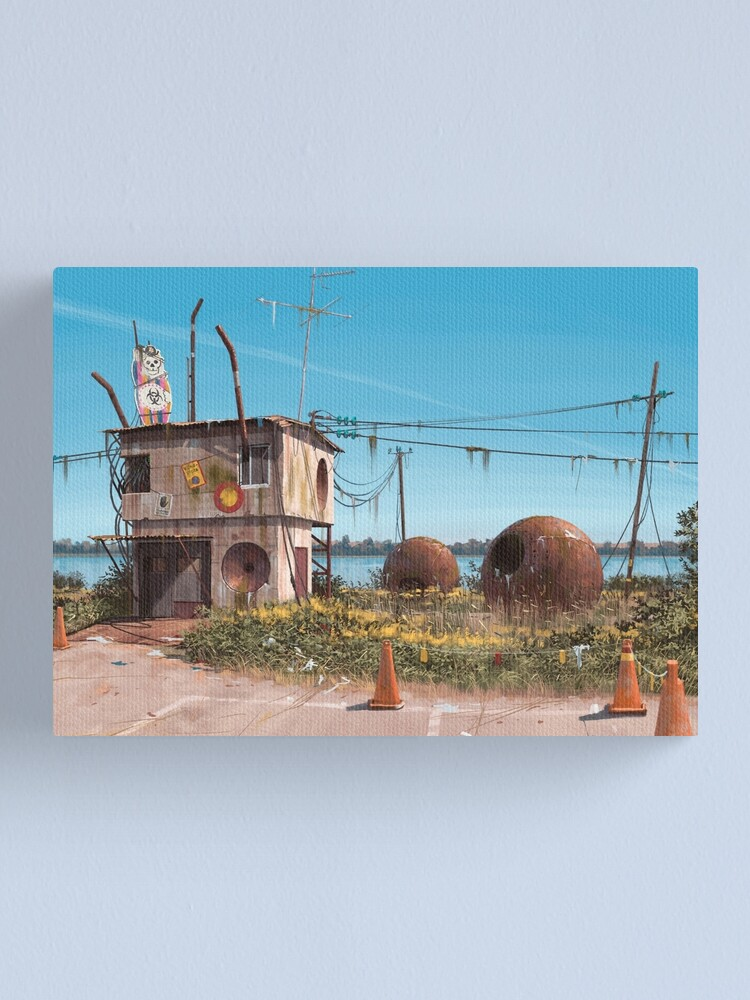 Alternate view of Astronomens Bunker Canvas Print