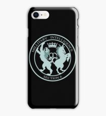 Military Intelligence, Section 6 iPhone Case/Skin