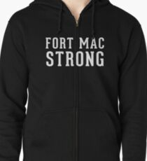 Fort Mac Strong (unisex, white) - Support Fort Mac T-Shirt
