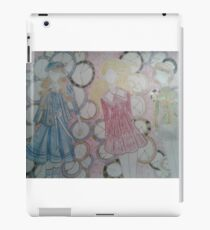 A collection of anime/videogame outfits set to clocks iPad Case/Skin