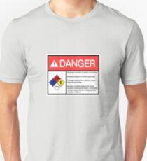 Danger Dihydrogen Monoxide Unisex T-Shirt