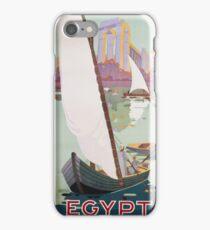 Vintage famous art - Hashim - Egypt Poster iPhone Case/Skin