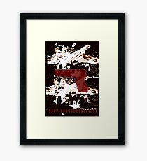 Who took my bullets? Framed Print