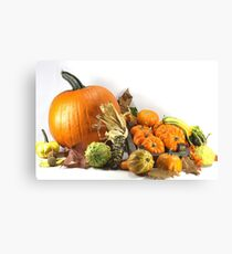 Thanksgiving Day Canvas Print