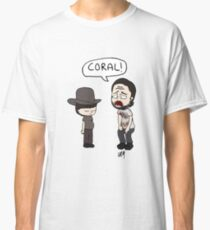 The Walking Dead, Coral meme illustration Classic T-Shirt