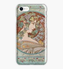 Alphonse Mucha - Ivy  iPhone Case/Skin
