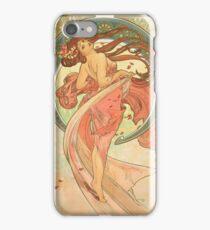 Alphonse Mucha - Dance iPhone Case/Skin